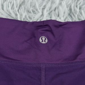 lululemon athletica Shorts - Lululemon Purple Shorts Womens Size 6